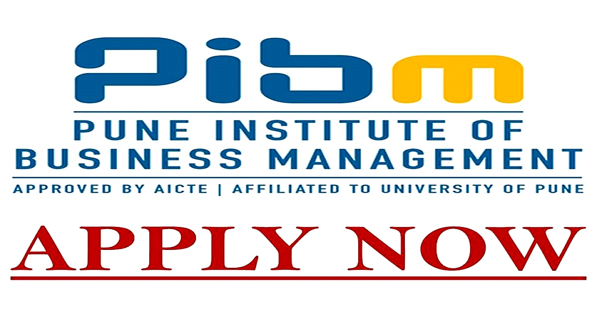 Pune Institute of Business Management- APPLY NOW