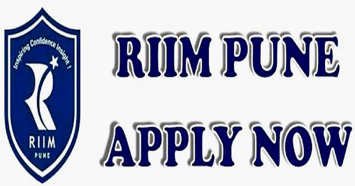 RIIM PUNE- APPLY NOW